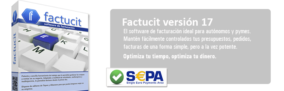 Factucit - Software de facturación