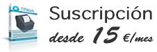 Suscríbete a TPWeb desde 15 euros/mes